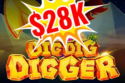 Dig Dig Digger Slot Gave $28,000 to the Lucky One!