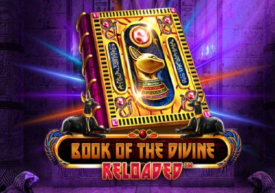 Book Of The Divine Reloaded Slot by Spinomenal Logo