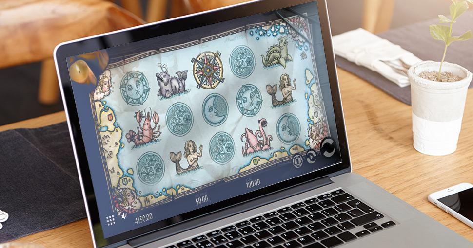 1429 Uncharted Seas - Slot