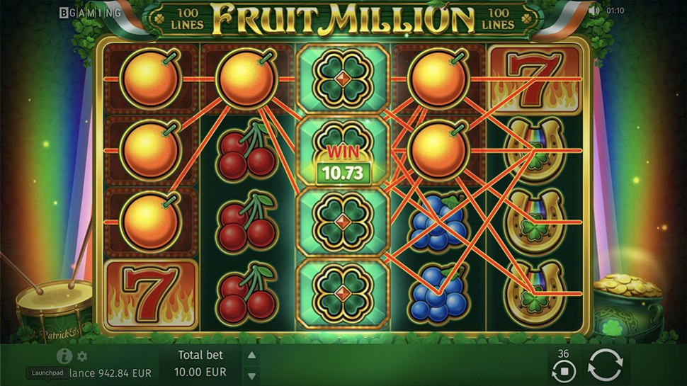 BGaming Releases St Patrick's Day Edition Fruit Million