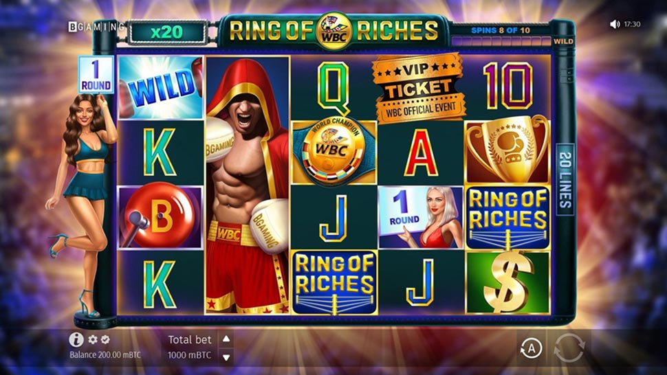 WBC Ring of Riches new slot released news