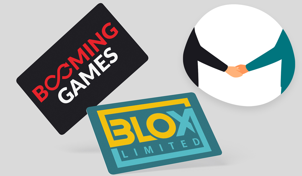 BLOX Limited in partnership with Booming Games