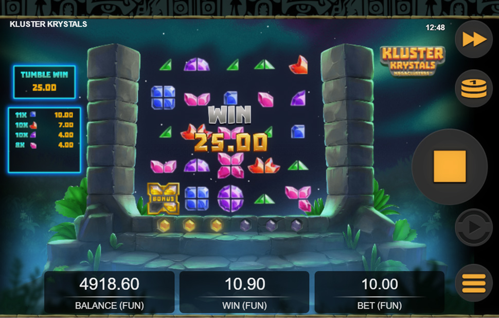 Brilliant Release from Relax Gaming - Kluster Krystals Megaclusters