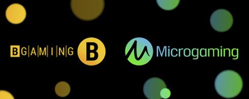 BGaming and Microgaming Sign Agreement - SJ news
