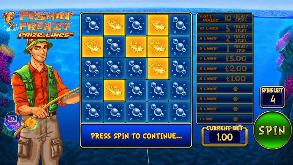 New Prize Lines Mechanic in the Latest Slot by Blueprint Gaming
