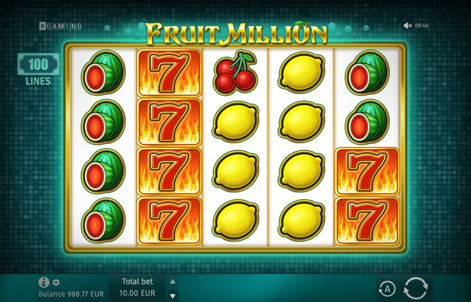 Fruit Million - First Shapeshifter Video Slot by BGaming