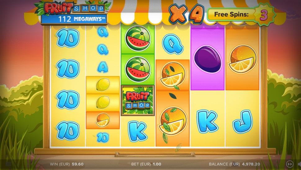Fruit Shop Megaways Released by NetEnt