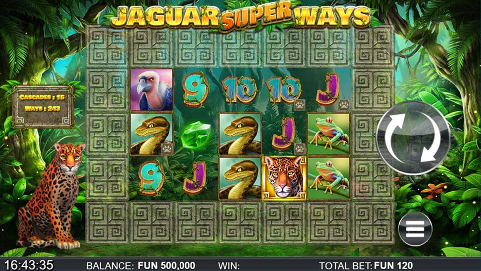 Jaguar SuperWays Was Released by ReelPlay Together with Yggdrasil