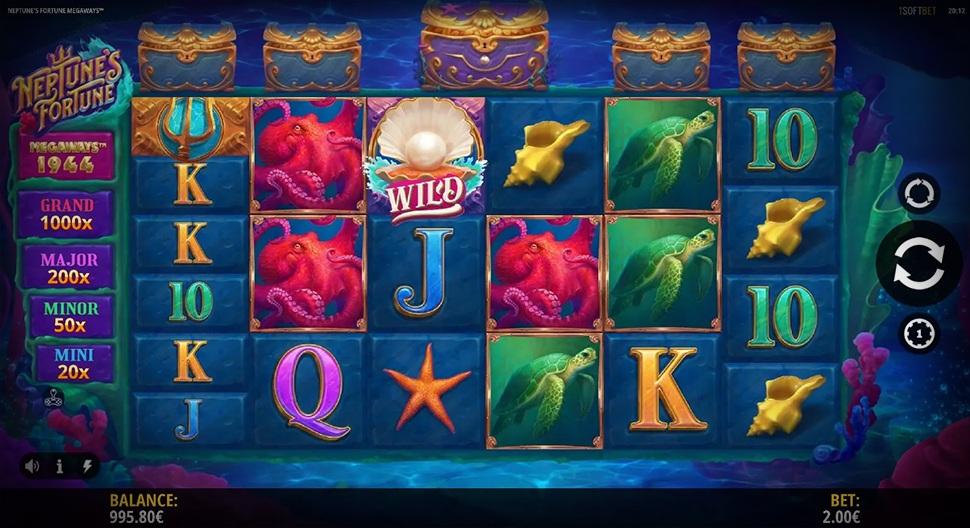 New iSoftBet's Slot – Neptune's Fortune Megaways