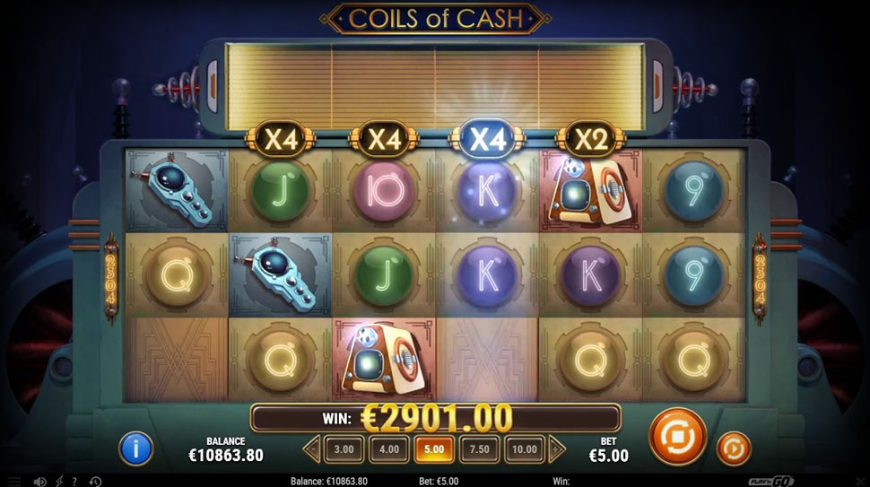 Play'n GO Release the Electrifying Coils of Cash