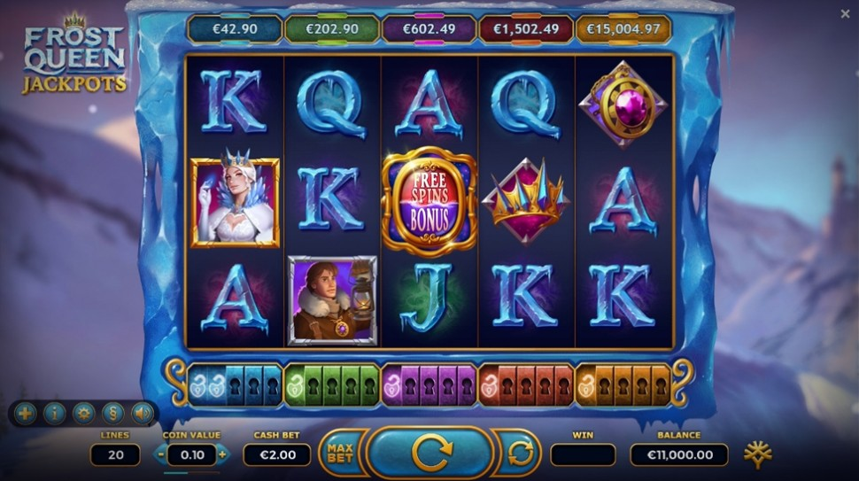 Wonderful Winter Slot: Frost Queen Jackpots from Yggdrasil