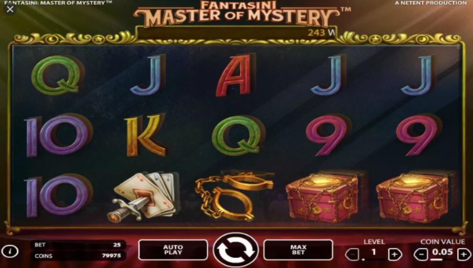 Fantasini Master of Mystery - Slot