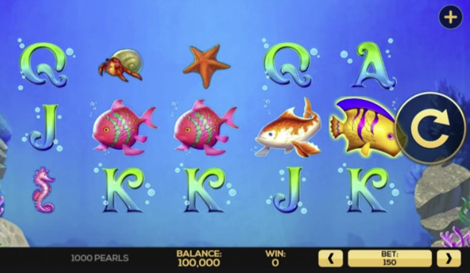 1000 Pearls - slot