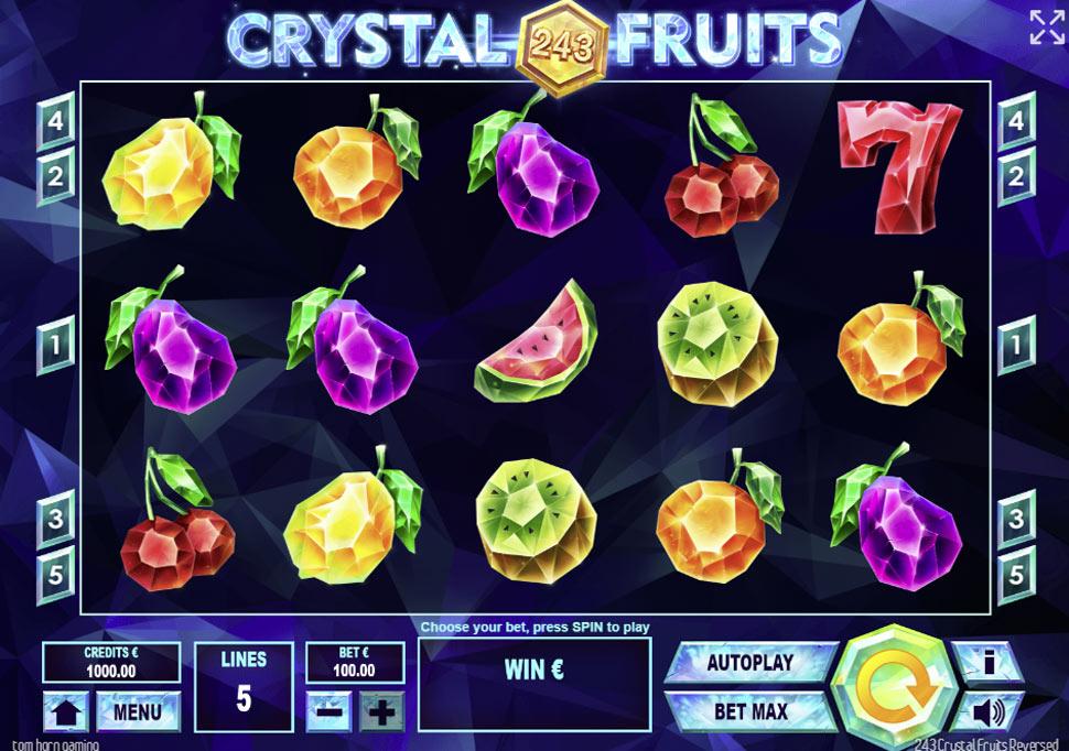 243 Crystal Fruits Reversed - slot