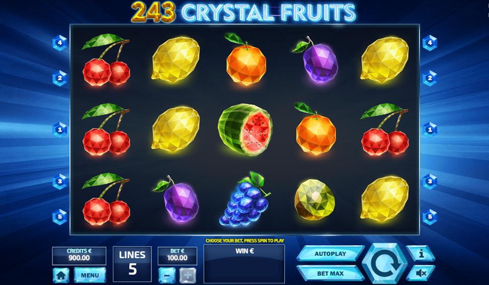 243 Crystal Fruits - slot