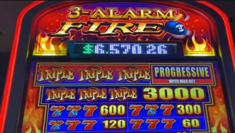 3 Alarm Fire - Slot