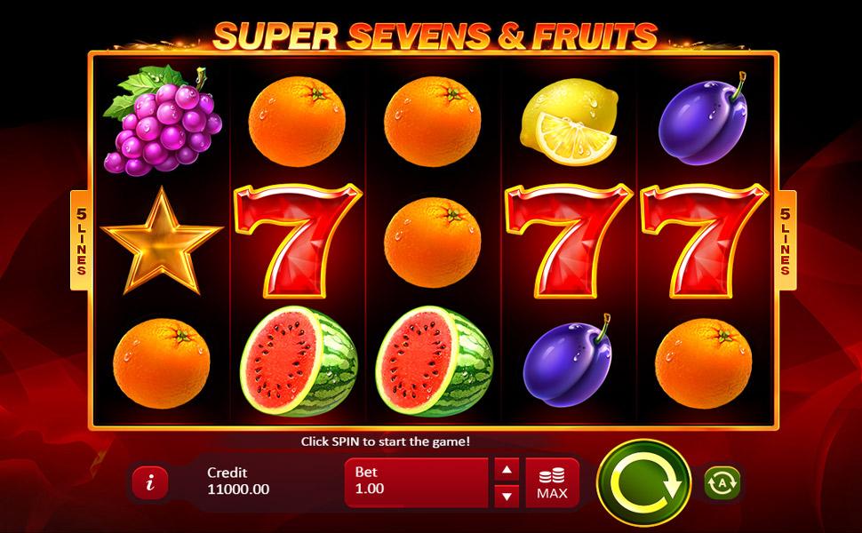 5 Super Sevens & Fruits - Slot