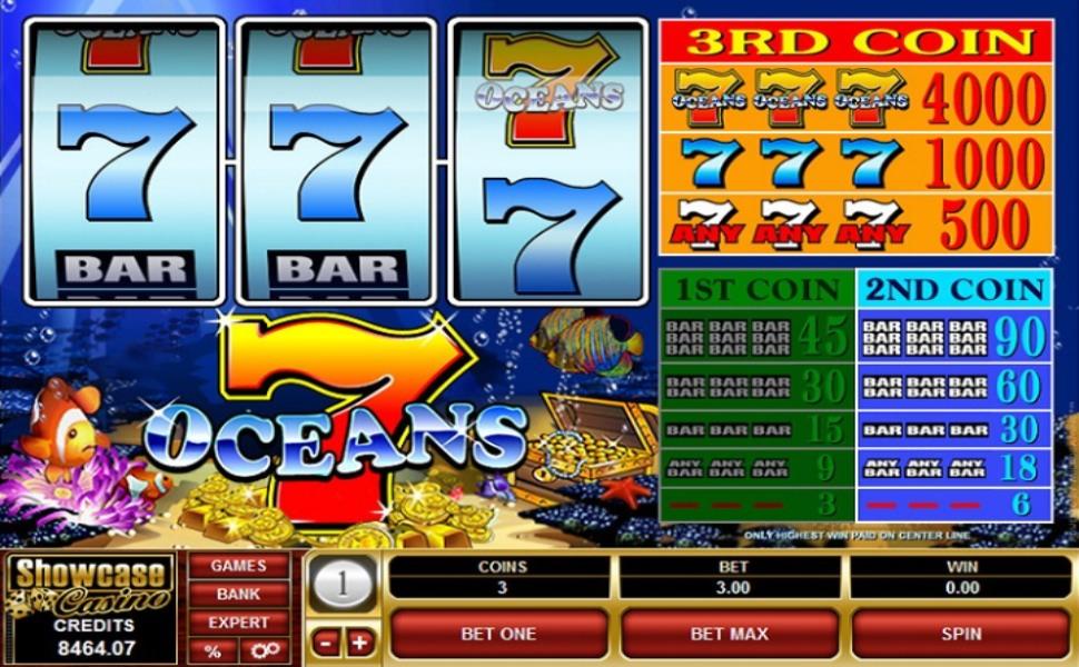 7 Oceans - Slot