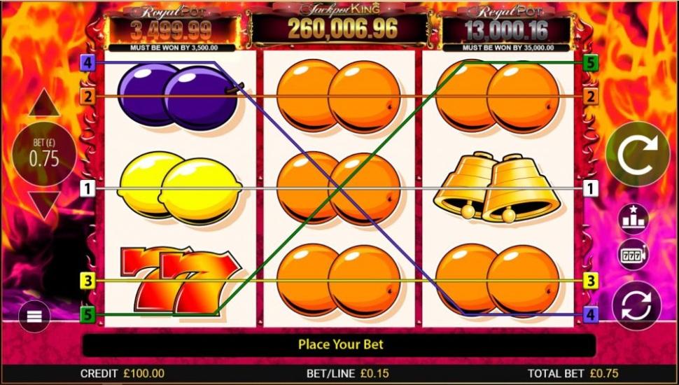 7s Deluxe Jackpot King - Slot