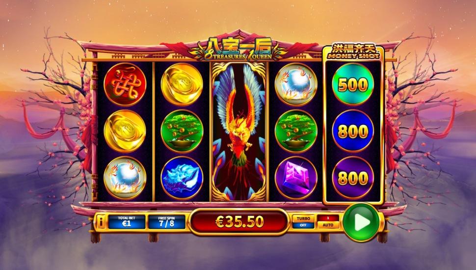 8 Treasures 1 Queen - Slot
