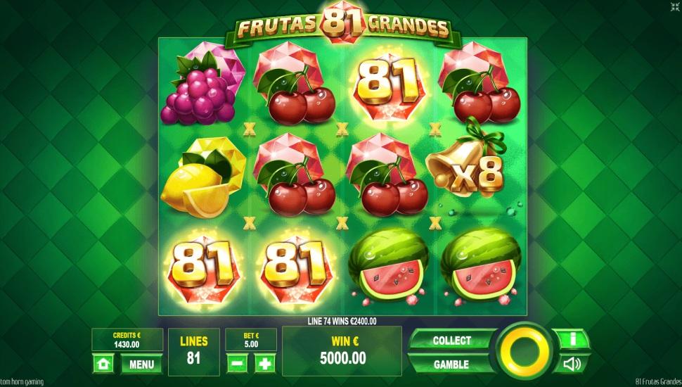 81 Frutas Grandes - Bonus Features