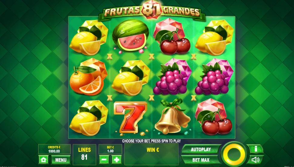 81 Frutas Grandes - Slot
