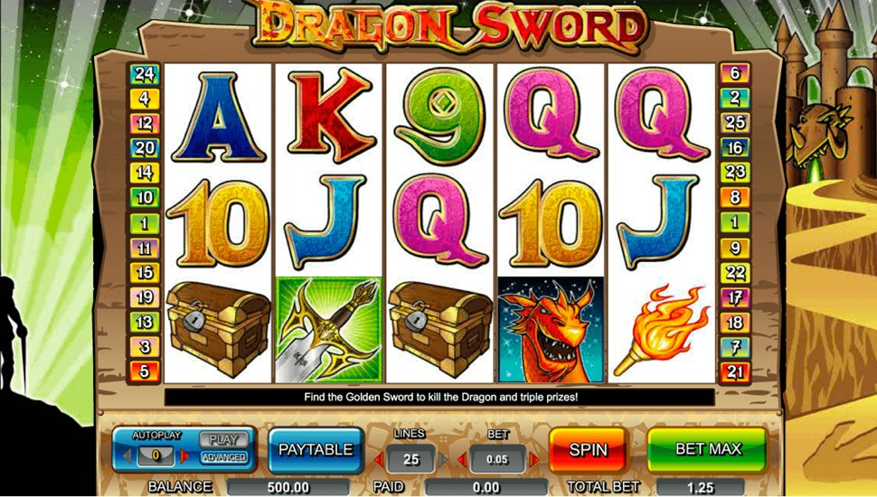 Dragon Sword Slot