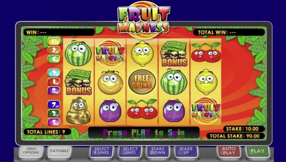 Fruit Madness - Slot
