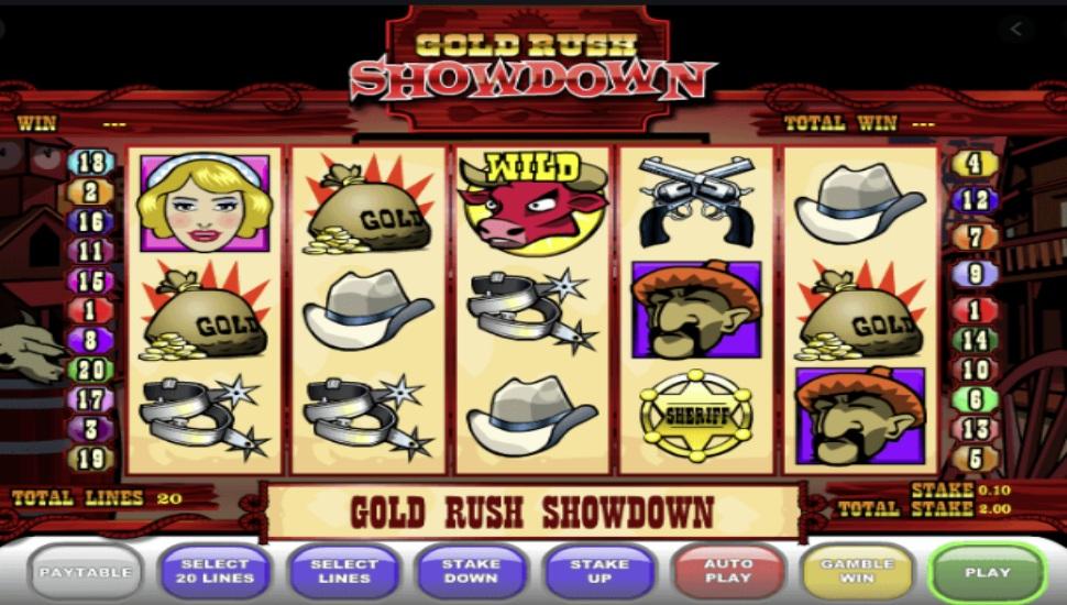 Gold Rush Showdown - Slot