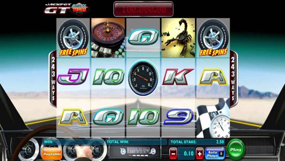 Jackpot GT Race to Vegas - Slot