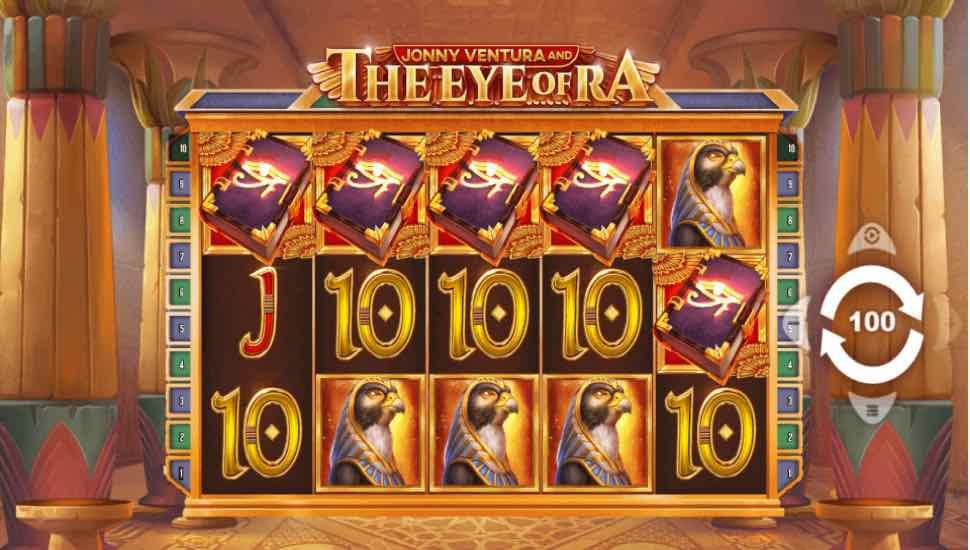 Jonny Ventura and the Eye of Ra - Slot