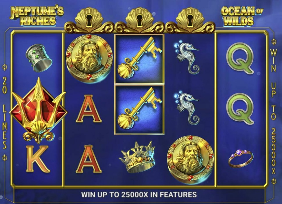 Neptune's Riches: Ocean of Wilds - Slot