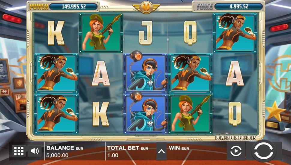 Power Force Heroes - Slot