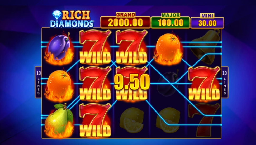 Rich Diamonds: Hold and Win - Bonus Features