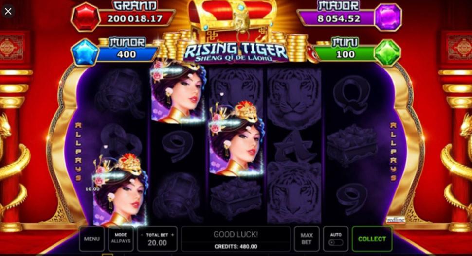 Rising Tiger Sheng qi de Laohu - slot