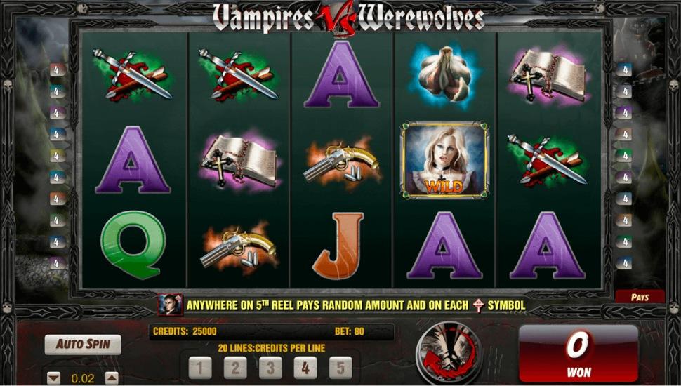 Vampires vs Werewolves Slot