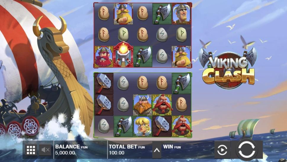 Viking Clash - Slot