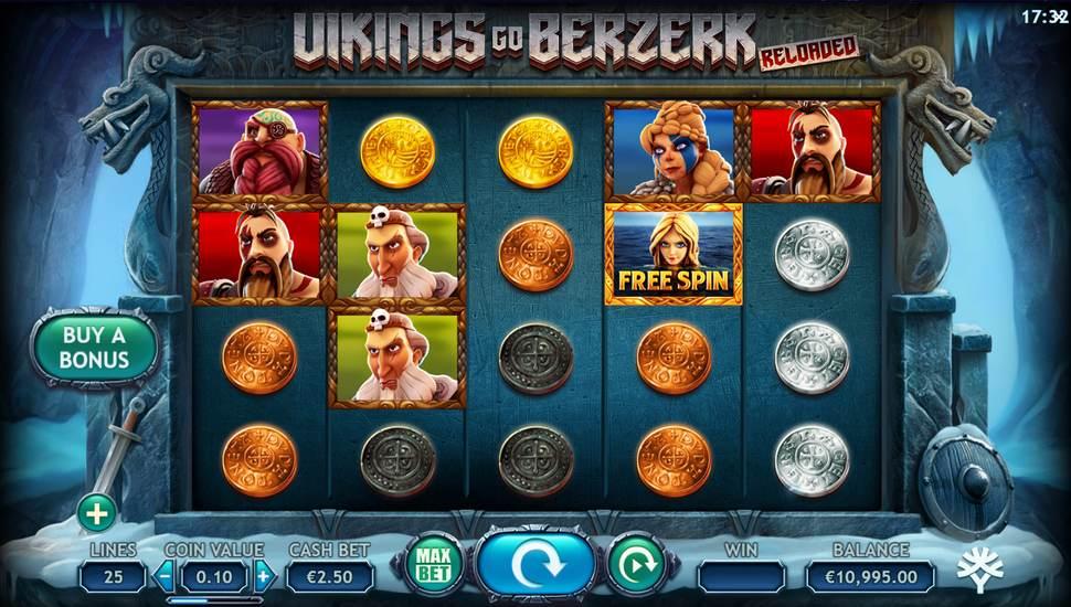 Vikings Go Berzerk Reloaded online slot by Yggdrasil