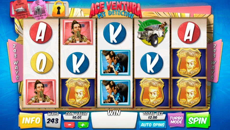 Ace Ventura Pet Detective - Slot