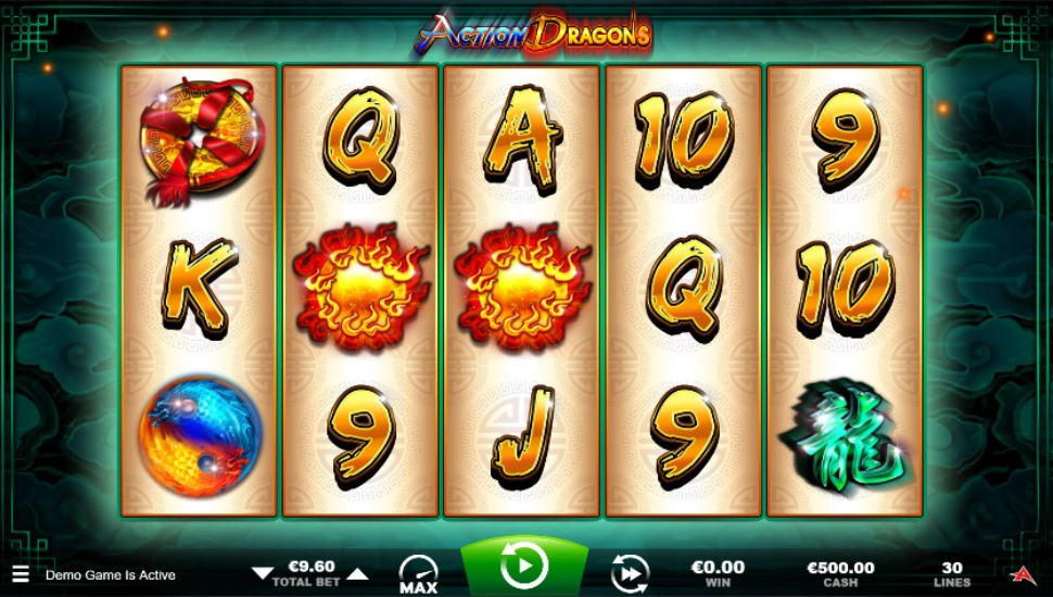Action Dragons - Slot