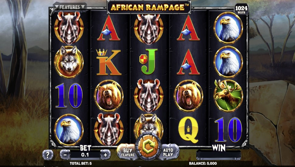 African Rampage - Slot