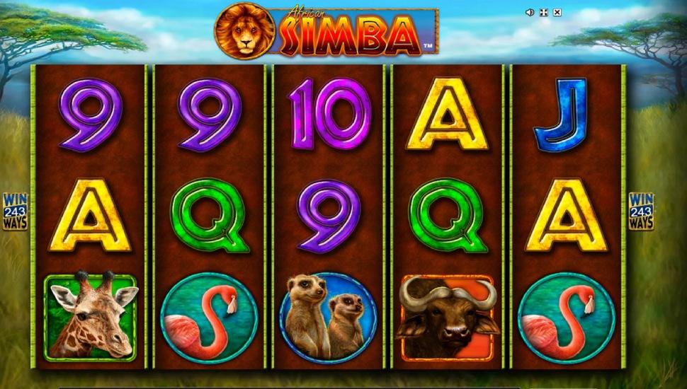 African Simba - Slot