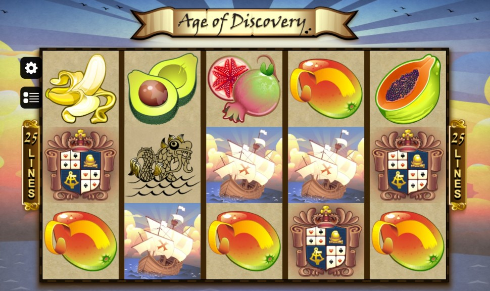 Age of Discovery - Slot