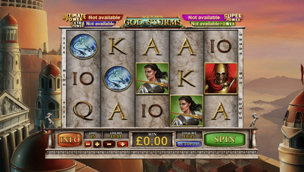 Age of the Gods: God of Storms - Slot