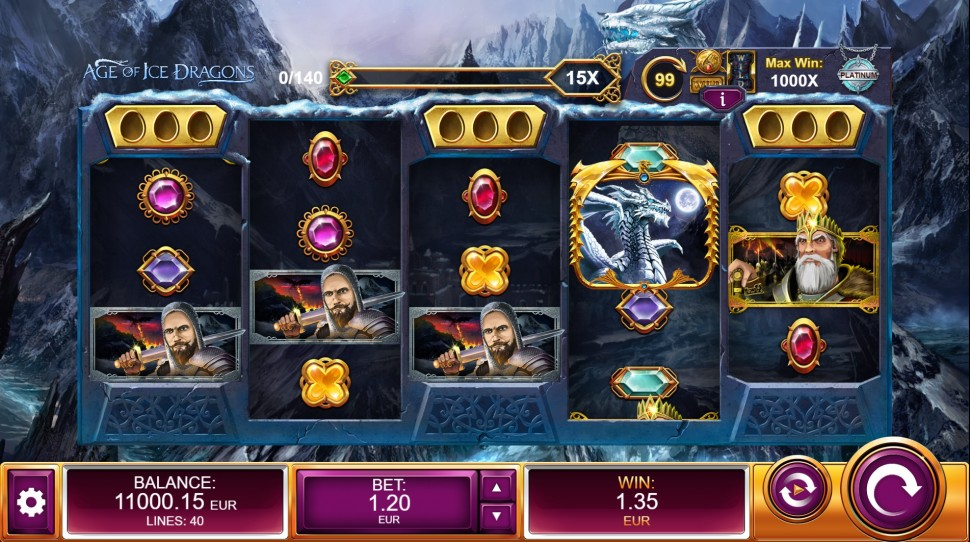 Age of Ice Dragons - Slot