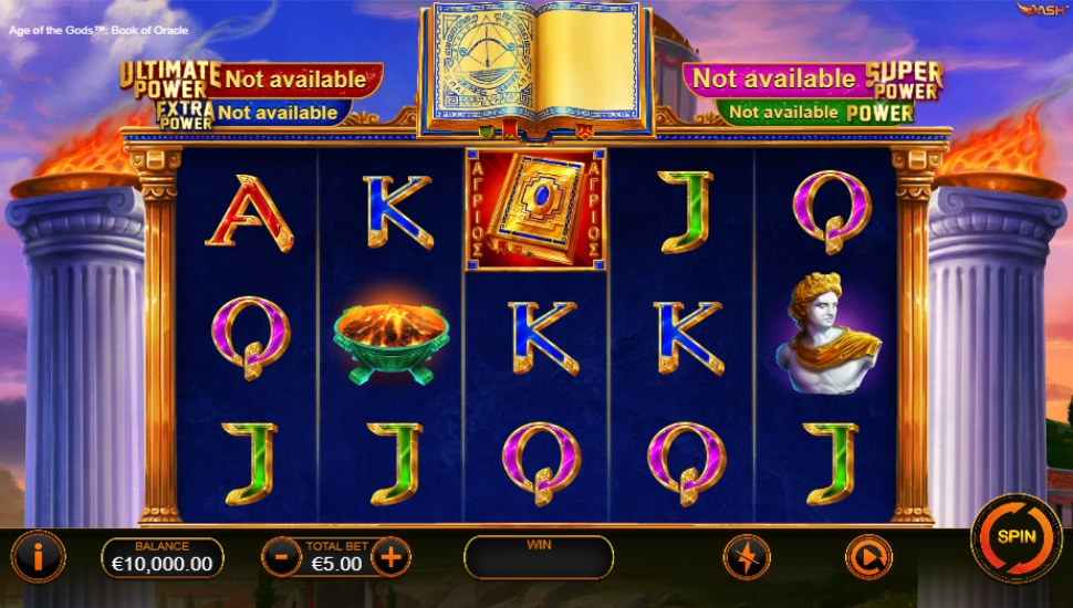Age of the Gods Book of Oracle - Slot