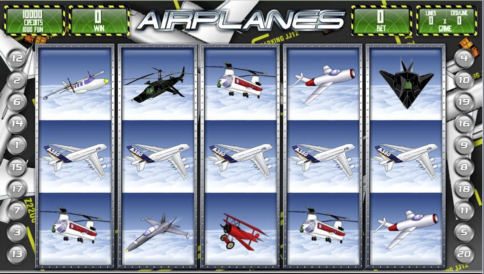 Airplanes - slot