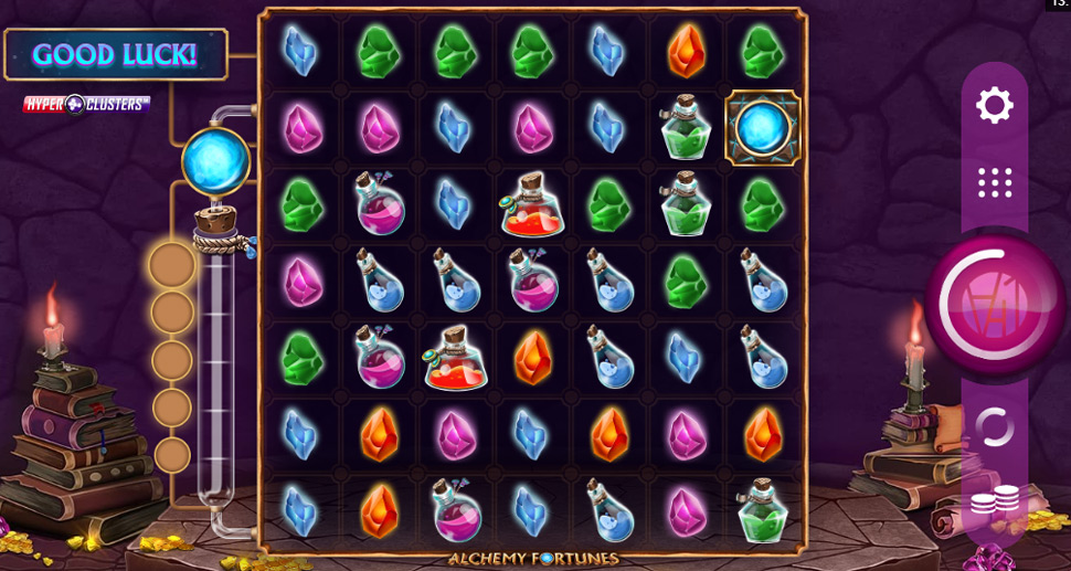 Alchemy Fortunes Hyper Clusters - Slot