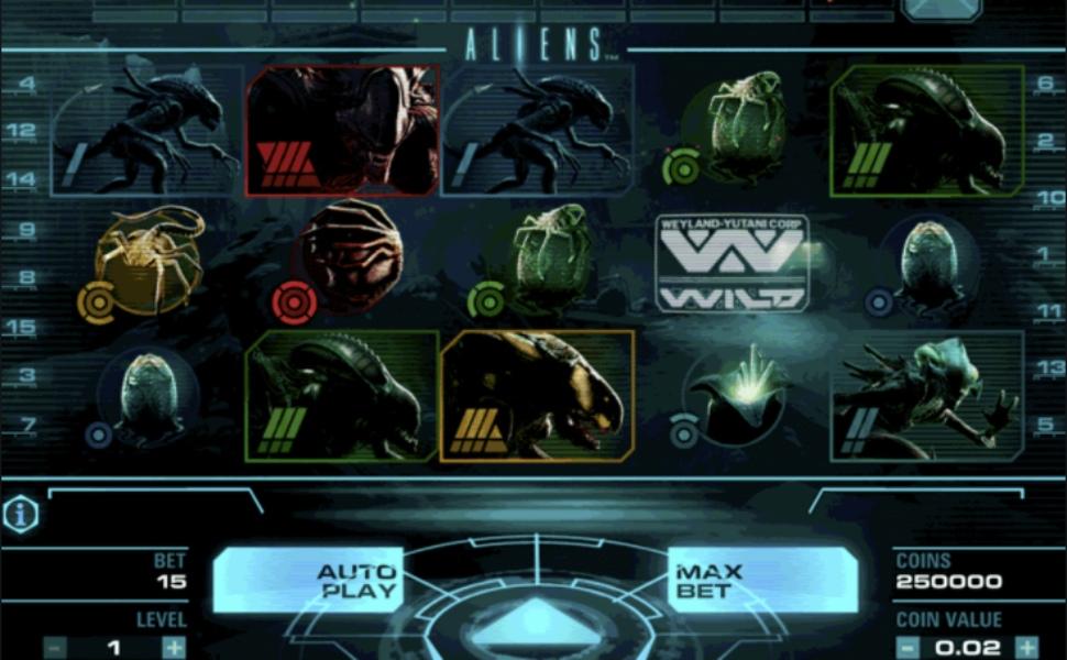 Aliens - Slot