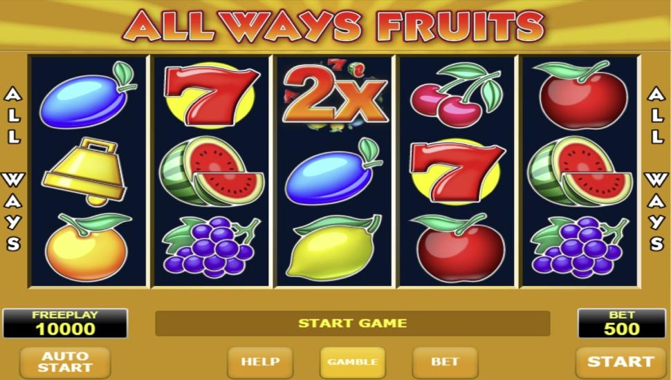 All Ways Fruits - Slot